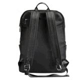 Sac mâle d'ordinateur de sac de course de grande capacité de sac d'épaule de noir de sac de la mode occasionnelle des hommes