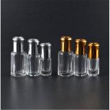 1ml 3ml 4ml 6ml 8ml 10ml het Broodje van het Glas op de Fles van het Parfum met de Rol en Aluminium GLB van het Glas/van het Staal