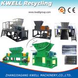 Máquina Shredding do eixo dobro/película Waste, saco, caixa, Shredder do pneumático