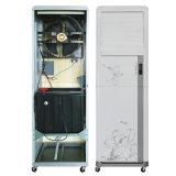 O ventilador móvel refrigerando do condicionador de ar do carrinho da almofada com Freewheel