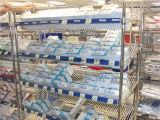 NSF 5 Plank van de Opslag van het Ziekenhuis van het Staal van het Chroom van Rijen de Regelbare