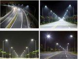 Do Ce de RoHS 120lm/W do poder superior 60W80W100W150W180W210W do diodo emissor de luz de rua da luz 50W 100W 150wled luz 2017 de rua ao ar livre IP65 5 anos de garantia