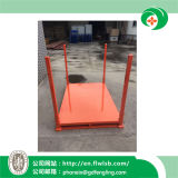 Quente-Vendendo a cremalheira de empilhamento de aço dobrável para bens do armazenamento