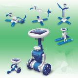 DIY 6 in 1 unterschiedlichem vorbildlichem Sonnenenergie-Roboter-Kind-Spielzeug