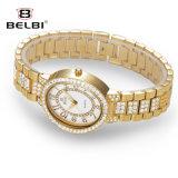 La vigilanza di Belbi ha corroso la vigilanza quadrata del quarzo dell'acciaio inossidabile dei diamanti dei caratteri asiatici di ombreggiatura
