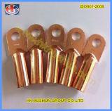 Fábrica que vende o terminal do fio terminal do nariz 20A-80A de cobre (HS-OT-0013)