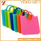 Heißer Verkaufs-Lebensmittelgeschäft-Einkaufen-kundenspezifischer Silikon-Beutel/Handtasche für Frauen-Fonds (XY-HB-01)