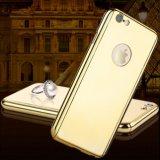 Caixa Electroplated do espelho de 360 graus para a caixa positiva do espelho do PC do chapeamento do iPhone 7