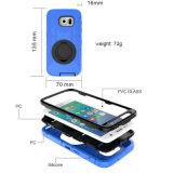 Случай панцыря Threeproof с кронштейном вращения для края Samsung S7