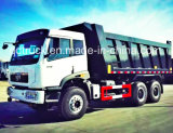 caminhão de descarga 6X4, descarregador do caminhão de Ca3256 FAW