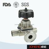 Мембранный клапан нержавеющей стали санитарный двухсторонний (JN-DV2008)