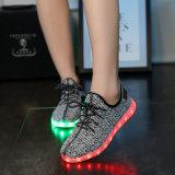 최고 질 성숙한 공기 방석 최대 스포츠는 LED 단화를 불이 켜진다