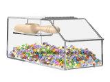 Kundenspezifisches Acrylplastikmassensortierfach mit Schaufel