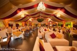 Tente 2000 de Hall de mariage de Seater avec le plafond de rideau en garniture de décoration