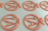 autoadesivi di scambio di calore di spessore 3D che coprono i contrassegni di stampa di marchio della cassa