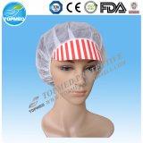 企業のための使い捨て可能なNonwoven PPのSnoodの労働者のピーク帽子