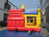 Castillos de salto inflables comerciales con la diapositiva, combinado inflable para la venta