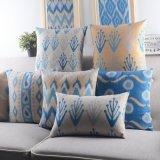 18 pulgadas cuadrados de poliéster liso almohadas decorativas sofá
