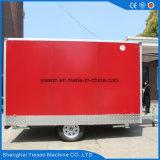 Aanhangwagens van de Vrachtwagen van het Voedsel van de Apparatuur van de keuken de Mobiele
