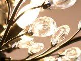Свет канделябра миниого металла кухни типа 3-Ights Америка кристаллический в ясном кристалле для столовой, Dia32cm H44cm