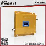 Repetidor móvel do RF do amplificador de impulsionador do sinal do telefone de pilha da G/M 900MHz do ganho