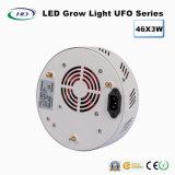 46*3W el UFO ahorro de energía LED crece ligero para la cultivación comercial