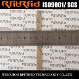 UHF RFIDのラベルの光沢紙の長距離陶磁器の接着剤RFIDの札