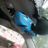 Cubierta interior protegida ULTRAVIOLETA material del espejo de unión de 2014 últimos ABS de Mini Cooper del estilo azul de gato para Mini Cooper F56 (1 PCS/Set)