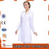 Couche unisexe de laboratoire de /White d'uniformes d'hôpital de qualité