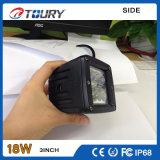 Lampada automatica del lavoro del motore LED della fabbrica dell'indicatore luminoso 18W del CREE per l'automobile