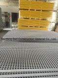 El panel Grating de la fibra de vidrio, reja de GRP/FRP usada en industria del Carwash