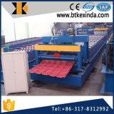 La feuille de toiture d'aluminium de Kxd 960 a glacé le roulis de tuile formant la machine