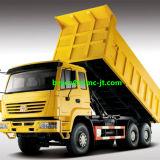 Caminhão de Tipper usado continente da descarga