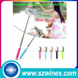 Mini&#160 vendedor caliente; Cable  Wired  Selfie  Stick  2016
