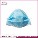 3-vouw het Beschikbare Medische Niet-geweven Masker van het Gezicht van het Stof Chirurgische