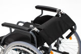 Aluminio, plegar, sillón de ruedas, (AL-001B)