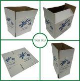 Cartone ondulato bianco del Kraft delle caselle mobili all'ingrosso con stampa blu
