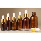 bottiglie di vetro del profumo ambrato 5ml/olio essenziale con il contagoccia di vetro/la foschia/la pompa/coperchio a vite fini dello spruzzo