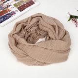 Мягкий шелк Handfeel шарфа шарфа 80s 100%Vicose Handfeel мусульманский Hijab