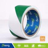 Grün und Weiß kein anhaftendes PET warnendes Band, Sperren-Band