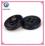 Rotulação preta da resina em acessórios da tecla de camisa do terno da tecla 4holes