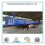 China 60 van het Nut van de Lading van de Aanhangwagen Ton Aanhangwagen van de Zijgevel van de Semi