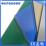 Certificado ISO Panel de pared de materiales compuestos de aluminio PVDF al aire libre