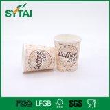 La venta caliente impermeable crea la taza para requisitos particulares de papel de un sólo recinto