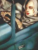 Peinture à l'huile de Lempicka - 05