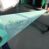 녹색, 250mm*25mic*1800m는, 3개의 층 필름, 중공 성형 LLDPE 필름 CO 내밀었다