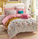 Textiel Katoenen van 100% Beddegoed Van uitstekende kwaliteit die voor Huis/de Reeks van het Beddegoed van de Dekking van het Dekbed van het Dekbed van het Hotel wordt geplaatst