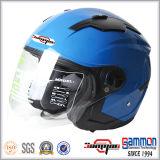 Casco aperto del motociclo/motorino del fronte dell'ECE con la doppia visiera (OP230)