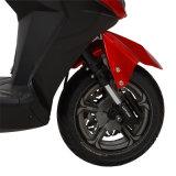 Motocicleta elétrica da potência desportiva