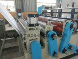 Máquina de la fabricación de papel de rodillo de tocador el rebobinar de la pequeña escala del bajo costo